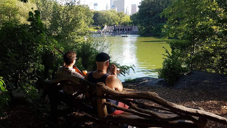 Rafe and I Central Park
