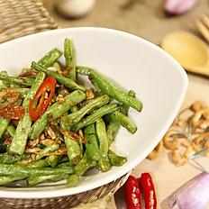 蝦醬四季豆  100
