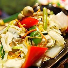 蒟蒻錦蔬菜  130
