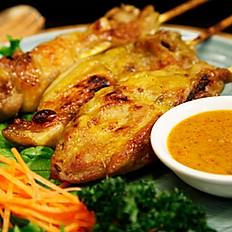 雞肉沙嗲串  6串200 / 3串120