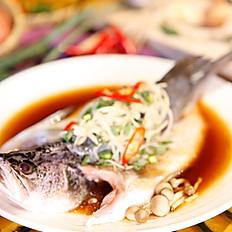 清蒸蠔油魚  250