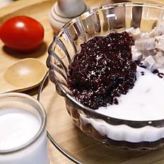 香芋黑糯米 (熱)  60