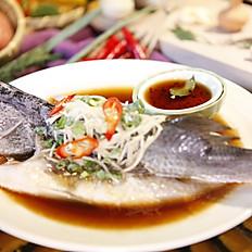 清蒸梅子魚  250