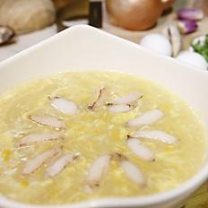 蟹肉玉米湯  大 150  小 80