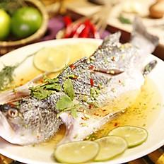 清蒸檸檬魚  250