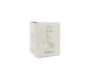 Blanc candle - Black Tea