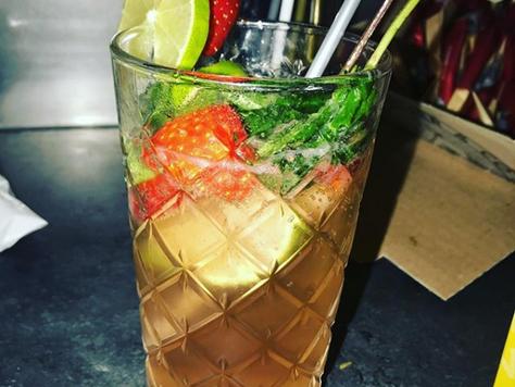 lekkere alcholvrije virgin cocktail