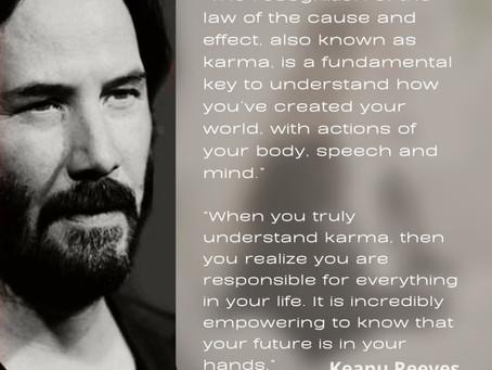 The Matrix  of Karma