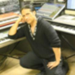 Andrea De Paoli in studio
