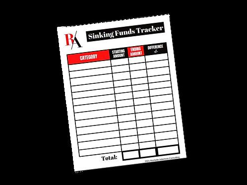 Sinking Funds Tracker
