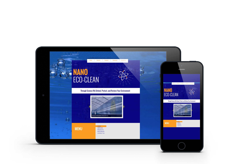 Nano EcoClean Website