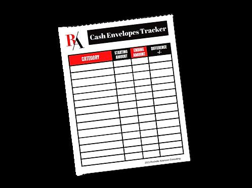 Cash Envelopes Tracker