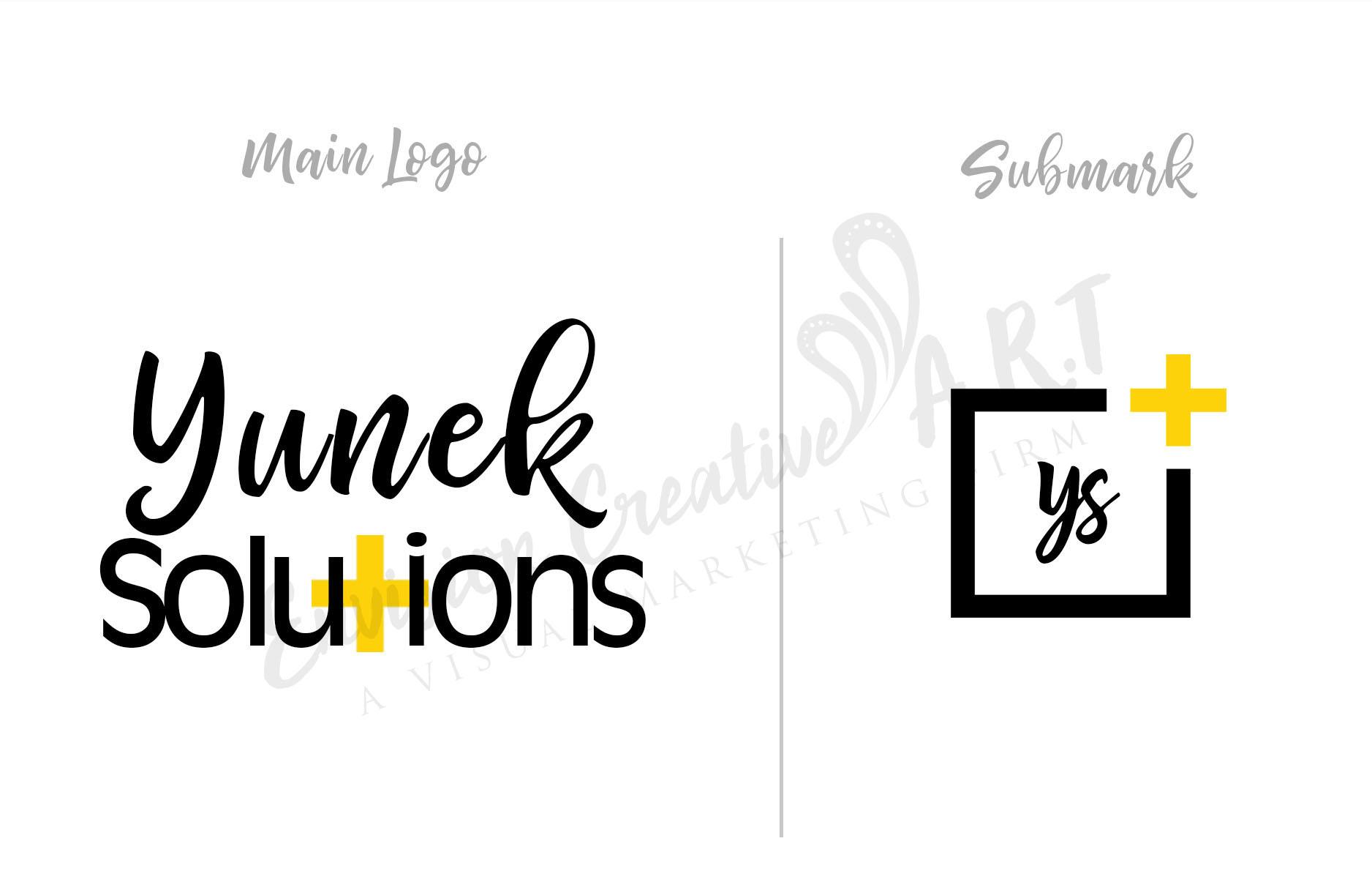 Yunek Solutions_Logo_1B+Submark