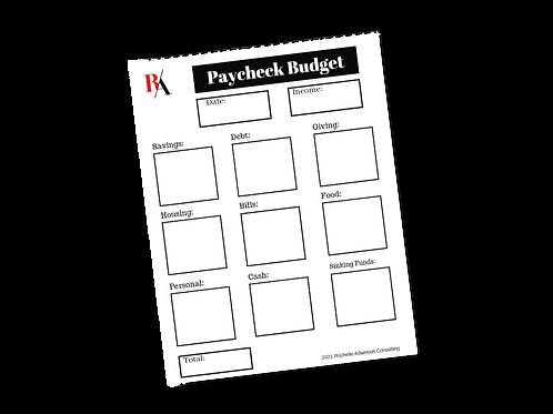 Paycheck Budget