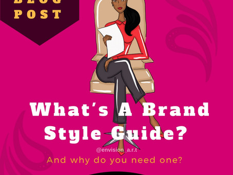 The Importance of Creating A Brand Style Guide