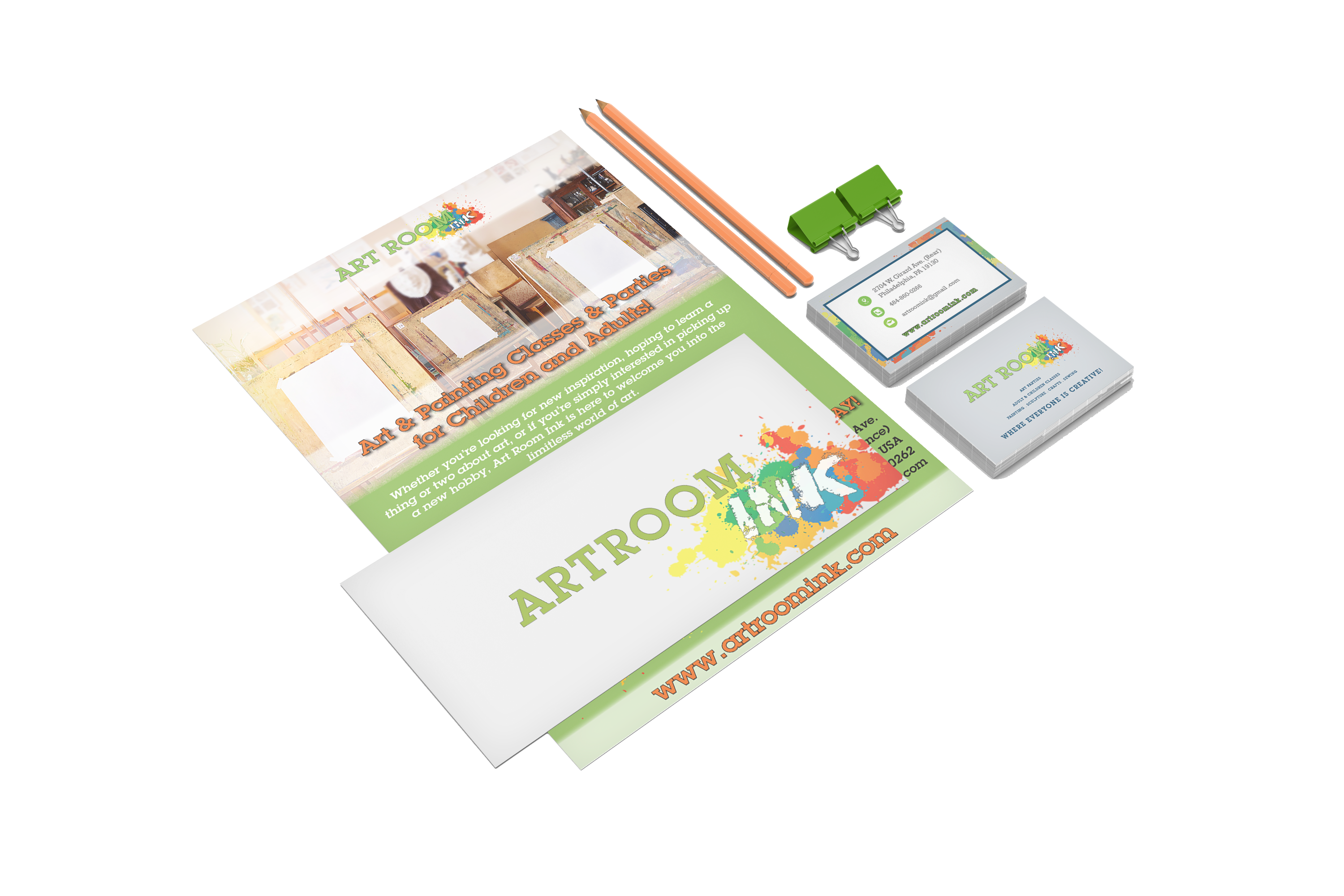 Art Room Ink Collateral Bundle