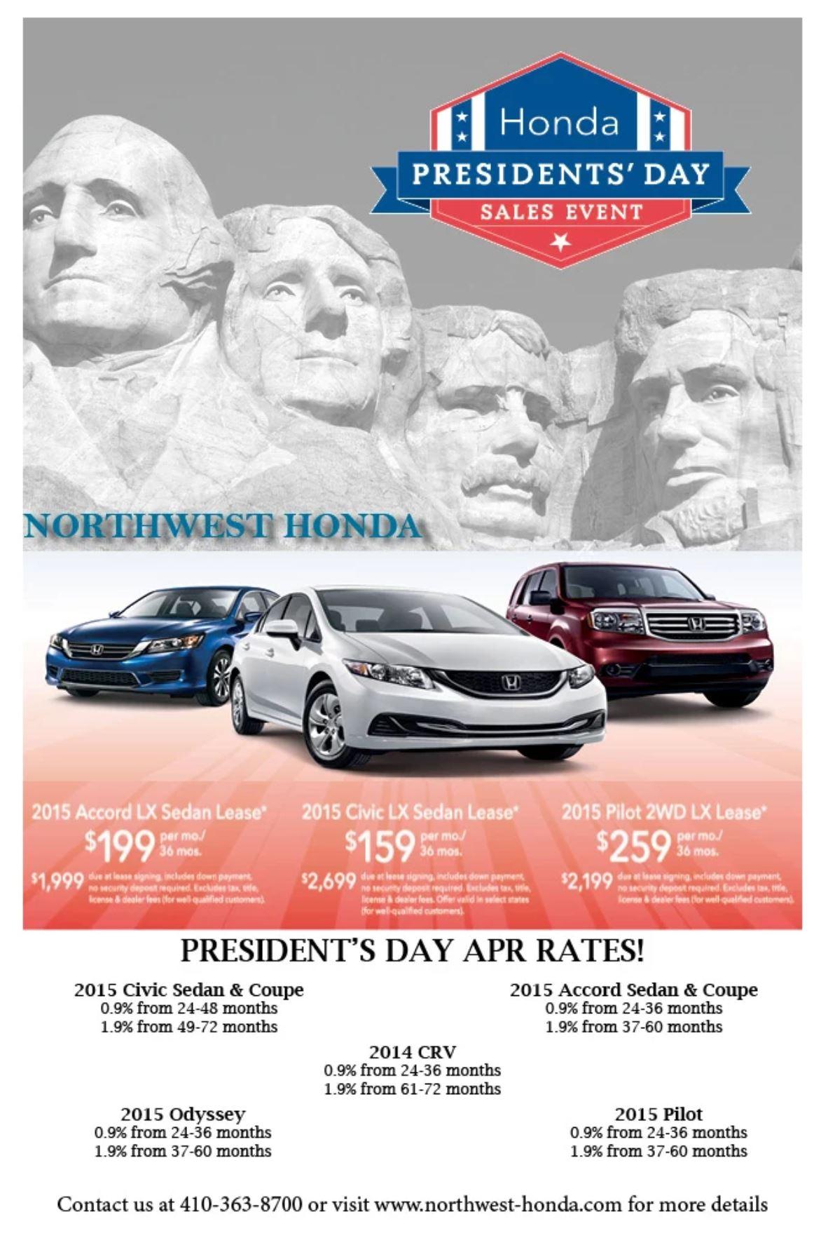 Honda_President Day Flyer