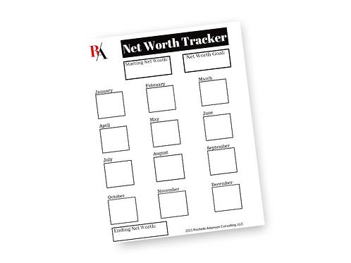 Net Worth Tracker