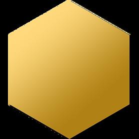 GOld Foil Hexagon.png