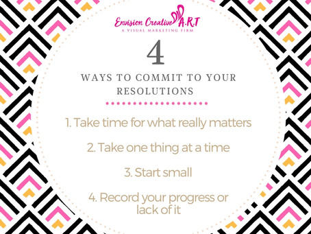 HOW TO COMMIT TO YOUR RESOLUTIONS