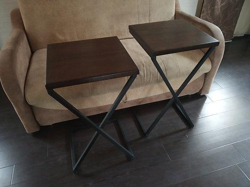 Приставной столик лофт