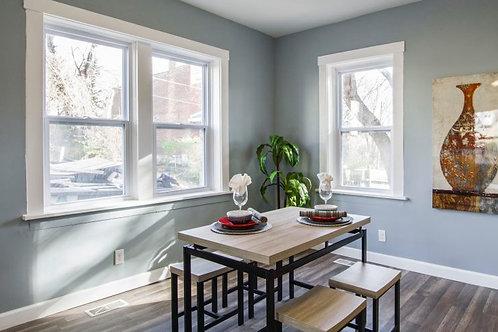 64X54 TRADESMAN PVC EGGRESS WINDOW  LowE&A DOUBLE  SINGLE HUNG