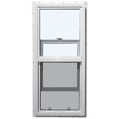 18X36 TRADESMAN PVC WINDOW  LowE&A  SINGLE HUNG