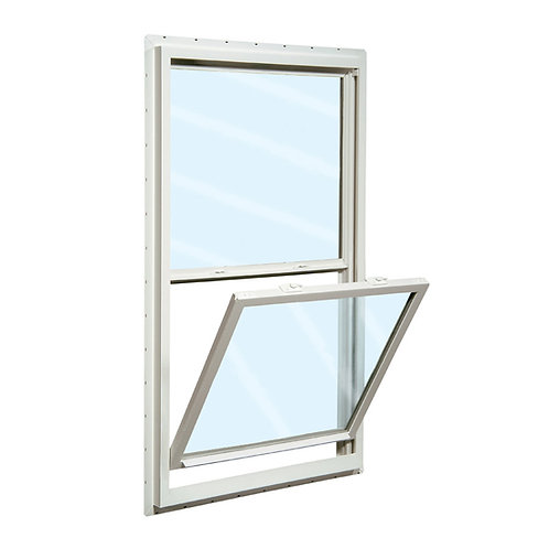 30X48 TRADESMAN PVC WINDOW  LowE&A  SINGLE HUNG