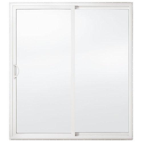 "60X80 4 5/8"" PVC FRAME RH SLIDING PATIO DOOR W/SCREEN LOW-E & ARGON"