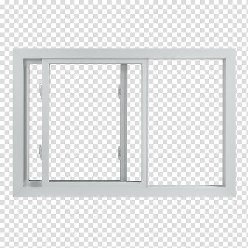 48X35 TRADESMAN PVC EGGRESS WINDOW  LowE&A  SLIDER