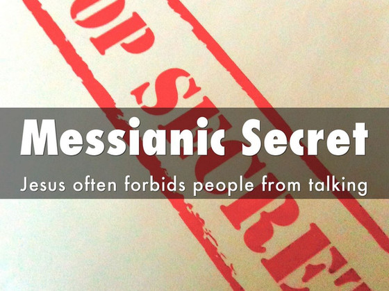 The Messianic Profile Cryptically Veiled