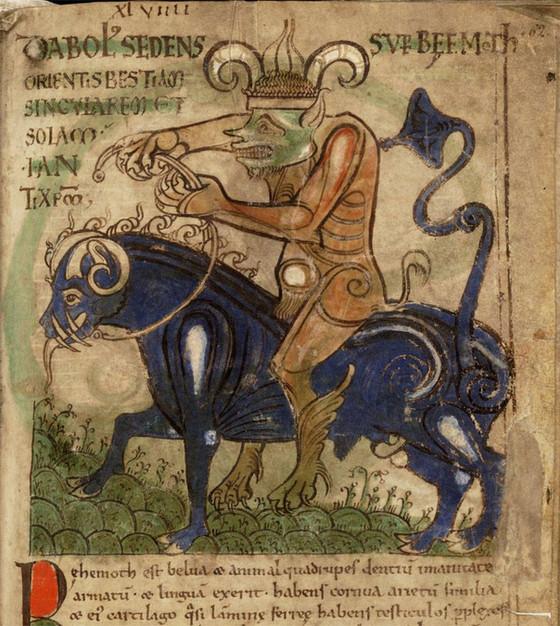 Behemoth In Job: A Bull, Not A Dinosaur