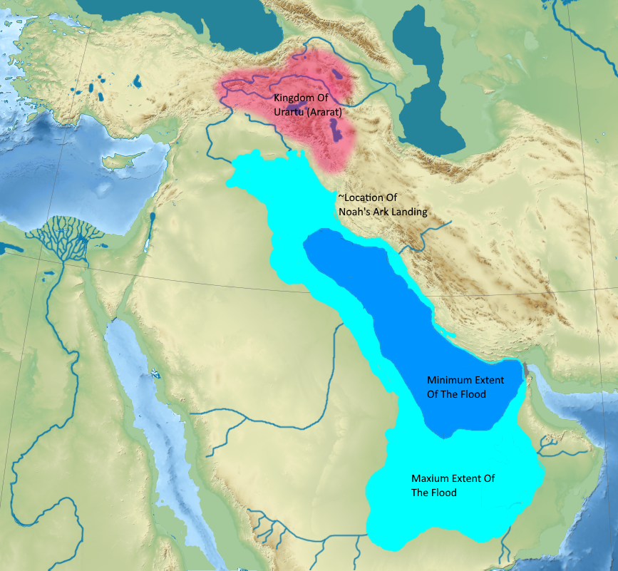 Noah's Flood: A Localized Catastrophe in the Persian Gulf