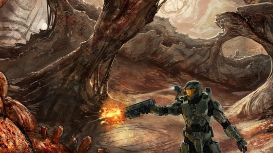 The Descent of Master Chief into the Bowels of Halo