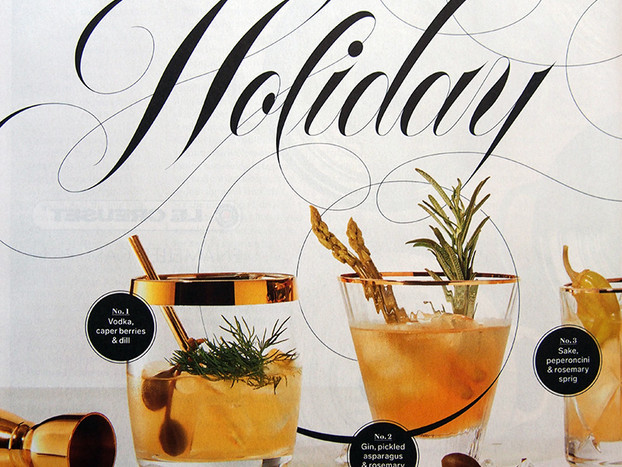 CHATELAINE: HOLIDAY CHEER