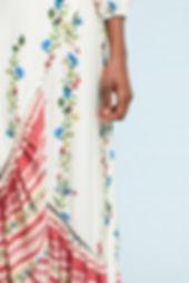 Farm Rio Springtime Wrap Dress Viscose v