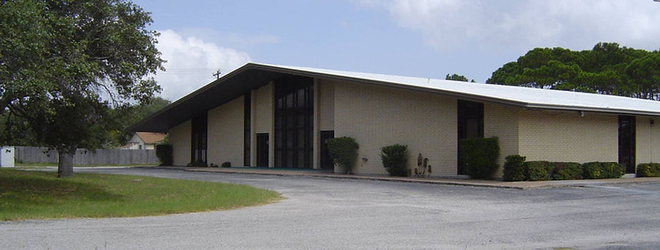 This is the church building where we meet.
