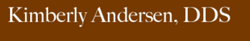 Kimberly Anderson DDS