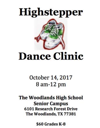 Please Read: 2017 Fall Dance Clinic
