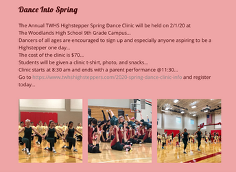 Spring 2020 Dance Clinic