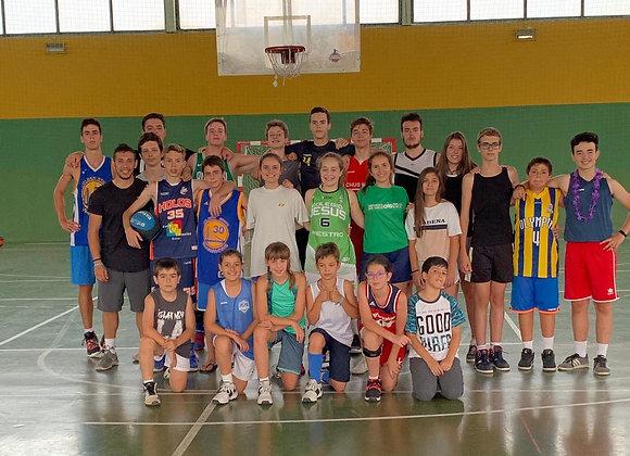 Campus de tecnificación deportiva de Baloncesto