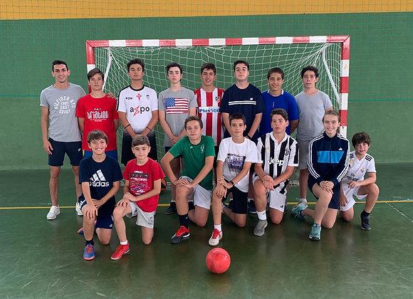 Campus de Tecnificación Deportiva de Fútbol sin autobús