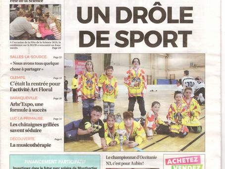 """Le Petit Journal N°509 : """" UN DRÔLE DE SPORT """""""