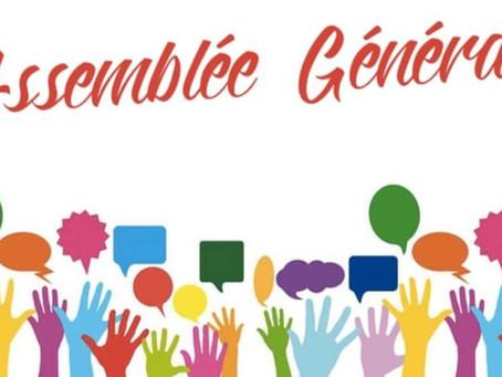 [erratum] Convocation à l'Assemblée Générale - 30/01/2021 #Visio à 11h