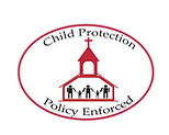 Child protection policy badge