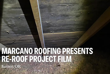 A residential roof with a roof ventilation modification provided by Marcano Roofing