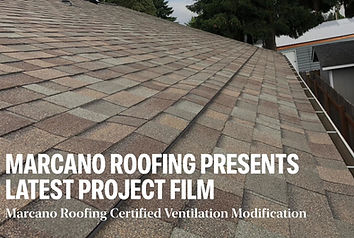 a residential roof in Salem Oregon that has been given a new roof and proper ventilation
