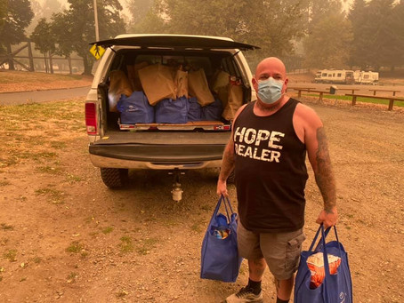 COVID-19 AND BEACHIE CREEK FIRE RELIEF UPDATES