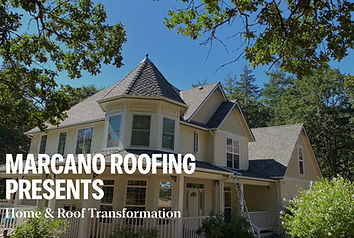 A Salem Oregon roof with new shingles installed by Marcano Roofing