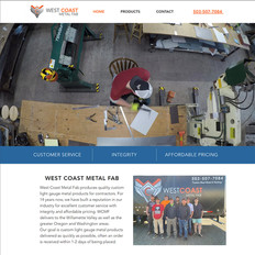 West Coast Metal Fab Website